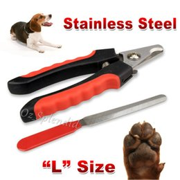 Wholesale Caring Dog - Pet Heavy Duty Nail Clipper Cutter Scissors Dog Cat Rabbit Toe Claw Paw Groomin