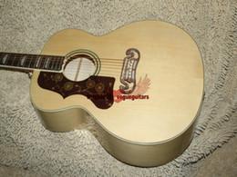 Wholesale Acoustic Left - Left Handed Natural 200 Acoustic Guitar Wholesale Guitars Best High Quality HOT