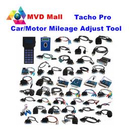Wholesale Tacho Pro Mileage Odometer - Unlock Version TACHO PRO 2008 Mileage Correction Universal Dash Odometer Programmer Tachopro V2008 Speedmeter Diagnostic Tool
