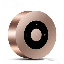 Wholesale Mp3 Low Price - A8 Portable Mini Bluetooth Wireless Speaker Top Quality Low Price Speaker MP3 Player Support Call Micro SD Card Touch Screen Better Than A9