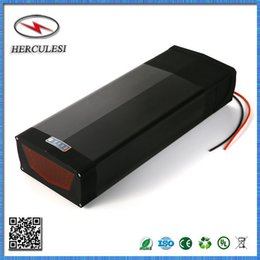 Wholesale Port Electric - 48V 1000W Electric Bicycle Kit 48V 20AH Rear Rack Li Ion Akku 13S8P 18650 Lithium Battery Pack Lockable with USB Port