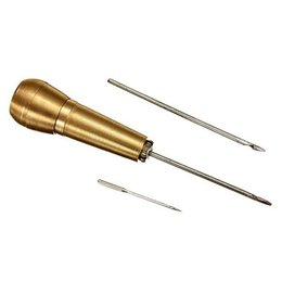 Canvas mano in pelle online-Tenda in pelle Canvas Cucito a mano Stitcher Leathercraft Needle Kit Tool