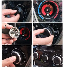 Wholesale air conditioning switch - 3PCS LOT Auto Air Conditioning Heat Control Switch Knob AC Knob For Ford Focus 2 MK2 Focus 3 MK3 Mondeo Car Styling Accessories