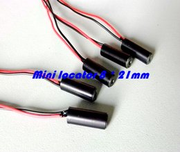 Wholesale Laser Light Sources - Within focus 635nm 5mW red dot laser module   mini locator   Test light source 8 * 21mm