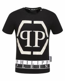 Wholesale Free Style Shirts - Free shipping 2017 autumn new men's tshirt round neck t-shirt fahsion t-shirt punk style t-shirt size m-3xl