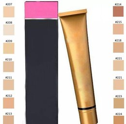 Wholesale Ups Types - High quality NEW MAKE UP Covering Foundation Hypoallergenic Waterproof 30g Skin Concealer 14 colors SPF 30