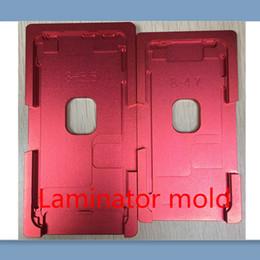 Molde de aluminio de precisión para iphone 8 / 8P para 8 más metal de molde de laminador para el vidrio frontal con marco Ubicación usuario de oca desde fabricantes