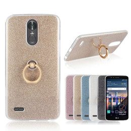 Wholesale Stylus Stand - Glitter Bling Soft TPU Silicone For LG G6 Case For LG G3 G4 G5 K7 K8 K10 2017 Stylus 3 Stand Holder Cover