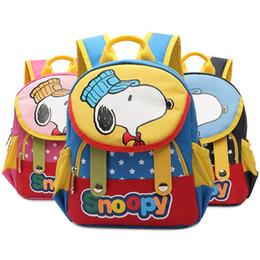 Wholesale Fashionable Backpacks - Snoopy Fashionable Backpacks For Kindergarten Kids Primary School Students