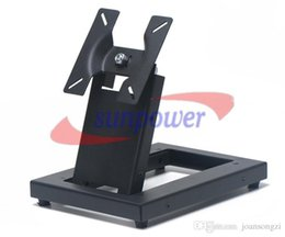 Wholesale Wall Tv Bracket - Universal 14-24 Inch LCD LED Monitor Flat TV Wall Mount Stand Bracket VESA 75 100mm by FEDEX IE