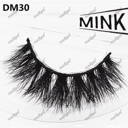 Wholesale Full Length Mink - 6D mink false eyelashes,1 pair super thick eyelash 100% mink hair hand made Multilevel Different length across design