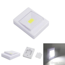 Wholesale Magic Star Light - Magnetic LED Night Light Ultra Bright Mini COB Wireless Wall Light with Switch Magic Tape for Camp Lamp Indoor