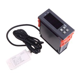 Wholesale Electronics 99 - 10A 12V Mini Digital Air Humidity Control Meter Tester Controller Measuring Range 1% ~ 99% with Sensor Electronic New
