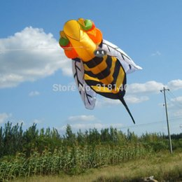 Wholesale Animal Stunts - 2.8m single line Stunt Hornet bee POWER Sport Kite outdoor toys Free shipping