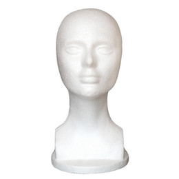 Wholesale Mannequins Stands - Free shiping male Mannequin Head Hat Display Wig training head model display head model women's wig stand