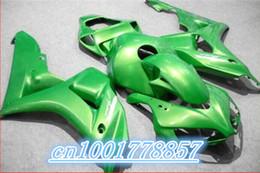 Wholesale Cheap Cbr Fairings - Cheap Custom 100% fit Fairings parts for 06 07 CBR1000RR 2006 2007 CBR 1000RR full green body fairing