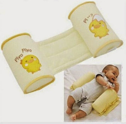 Wholesale Support Pillow Baby Safe - Wholesale- 2016 Hot Baby Safe Sleep Head Positioner Infant Anti-rollover Anti Roll Support Pillow
