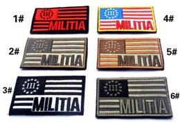 Wholesale Military Biker Patches - VP-62 US FLAG military patches 3D Embroidered Pacthes badges Armband badge garment accessories sew on patch biker patches