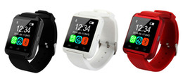 Wholesale Iphone 4s Home - U8 Smart Watch Bluetooth Phone Mate Smartwatch Wrist for iphone 6 6plus 4S 5S for Samsung S6 S5 Note HTC LG Free Shipping