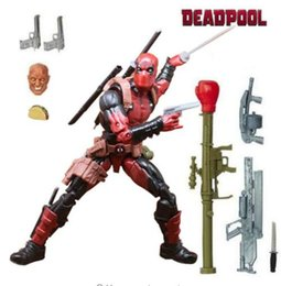 legend toys Promo Codes - Hot Sale Legends Action Figure Pizza Spiderman Spider Man Wolverine Deadpool Wade Winston Model Toys for Christmas New Year Gift