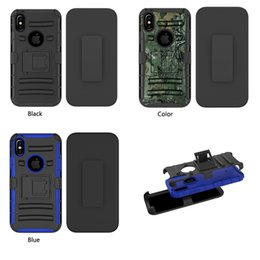 Wholesale Fine Packages - For Iphone X Case Shockproof protection armor Case Advanced Fashion Fine Mobile Phone Coque Retail package