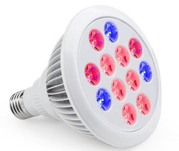 Types de projecteurs menés à vendre-3 Types 12W / 24W / 36W LED Grow Light Par Lights Plant Lumières intérieures Fleurs Conçu pour toute étape de croissance végétale