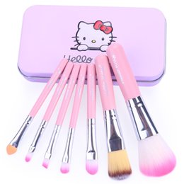 Wholesale Ups Trade - The new make - up 7 makeup brush sets of foreign trade hot makeup tools makeup brush 1box