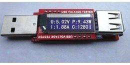 Wholesale Usb Tester Oled - Details about Mini OLED USB Charger Capacity power Current Voltage Detector Tester Meter