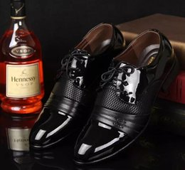 Wholesale Men Dress Black Shoes Wholesale - mens dress shoes hot sale 2017 casual leather brown leather black Business shoe