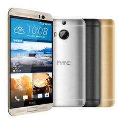 toque desbloqueado gps wifi Desconto Original recondicionado htc m9 5.0 polegada tela sensível ao toque de quatro núcleos 3G RAM 32G ROM 4G LTE GPS WIFI NFC Desbloqueado Android telefone