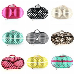 Wholesale Storage Cases For Clothes - Women Portable Bra Storage Boxes Various Lovely Print Lady Underwear Protect for clothes Case for clothes Storage
