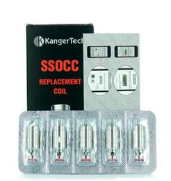 Kanger subox mini bobinas de substituição on-line-Kanger subbox mini starter kit 100% original SSOCC cabeça da bobina de substituição ecigs atualizado para subox mini nebox subtanque para kanger dripbox