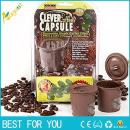 new arrived clever coffee capsule reuseable single coffee filter keurig kcup free shipping in bulk price - K Cups Bulk