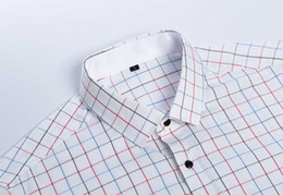 Wholesale Men S Wear China - New promotion china cheap price men shirts classic business shirts for male spread collar men wears with free shipment