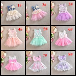 Wholesale Children Sequin Ruffled Shorts - 17 styles baby girls dress children boutiques tutu skirts with pearl kids sequin lace dresses girl's princess tired skirt