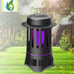 Wholesale Mosquito Killer Uv Lamp - High Quality 4W LED Mosquito Killer Lamp with Night Light Low Noise High-Speed UV Lights with 2 Colors OED-CLT023B