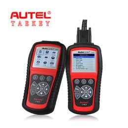 Wholesale Srs Scanning Tools - Original Autel Autolink AL619 ABS SRS Autos Diagnostic Tools Latest OBDII EOBD Test Modes Scan Tools Code Reader for Cans