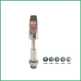 Wholesale Custom Vape Tanks - Dual Coil 510 metal Glass Cartridge CO2 Vaporizer Bud Touch Vape Pen Battery OEM Custom Logo Glass Tank 92A3 CE3 Atomizer