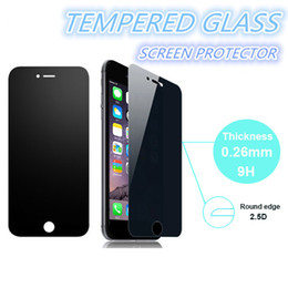 Wholesale Screen Protector Grand Retail Package - For Galaxy S7 Iphone 6 Privacy Tempered Glass Screen Protector For Grand Prime G5308 G3608 Galaxy S6 Anti-Spy Peeping With Retail Package B