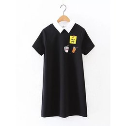 Wholesale Cheap Wholesale T Shirts China - Wholesale- vestido de festa 2017 spring dress vestidos dresses cheap clothes china women ropa mujer black roupa feminina t shirt casual new