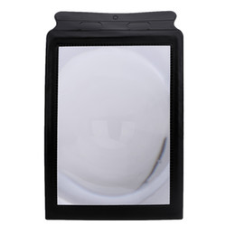 Wholesale Magnifiers Card - A4 Pocket 3X Full Page Fresnel Lens Flexible Card Reading Magnifier Magnifying Tool E0151