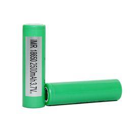 Батареи сигели онлайн-Аутентичные INR18650 25R Батарея 2500 мАч 20A 3.6 В 18650 Батарея Высокого Истощения Батареи HG2 Cell fit Sigelei Box Модов Бесплатная доставка