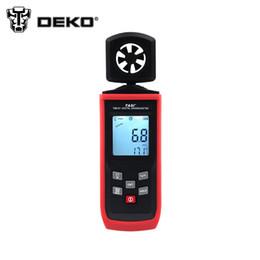 Wholesale meter volume - Wholesale-DEKO Digital Anemometer Wind Speed Air Volume Measuring Meter