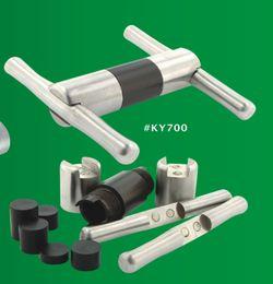 Wholesale Metal Compressor - Cream Whipper Metal stainless steel Pollen Press Compressor herb tobacco pollen presser