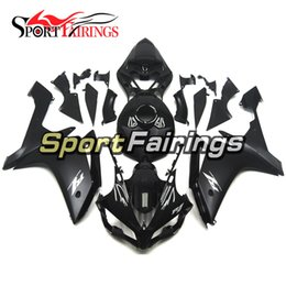 Wholesale Yzf R1 Black - Motorcycle Fairing Kit Bodywork Cowling Injection Fairings For Yamaha YZF 1000 R1 07 08 Year 2007 2008 ABS Black Silver Decals Covers New
