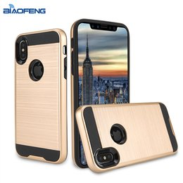 Wholesale Iphone Cases Wholesale Store - Most Popular Products China Online Store Metal Texture Ultra Thin Armor Cell Phone Case For iPhone 8 Vender