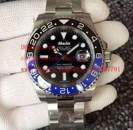 Wholesale New Steel V6 - Noob Factory Maker 1:1 V6 Version Swiss ETA 2836 Movement 40mm GMT II 116710 116710BLNR Ceramic Automatic Mens Watch Men's Watches