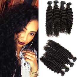 Cheveux péruviens de 18 pouces bon marché en Ligne-Cheveux péruviens !! Pas cher Extension de cheveux péruviens Vague profonde Trame de cheveux 8-30 pouces G-EASY Livraison gratuite