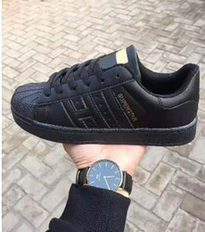 Wholesale Lover Black - 2018 Hot Sale 15colors Fashion Men smith Casual Shoes Superstar Female Sneakers Women Zapatillas Deportivas Mujer Lovers Sapatos Femininos