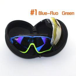 Wholesale Woman Sport 3pcs - New Gafas Cycling Eyewear Goggles 3pcs Lens Polarized UV 400 Cycling Sunglasses Bicycle Glasses Tour De France Eyewear Ciclismo Lunette